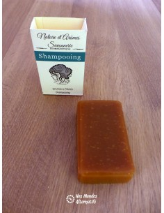 Shampoing solide tous types de cheveux