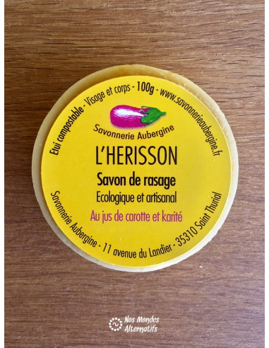 Savon de Rasage Mixte 100g Le Herisson