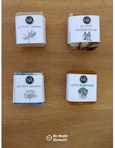 Mini-Shamp Solide et 3 mini-savons Découverte