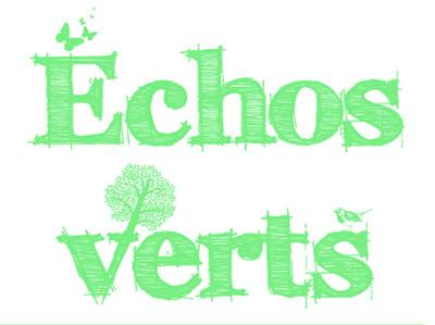 """article sur le site des """"échos verts"""""""