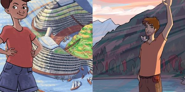 Eco-box La Quête de Mahé et La Cité de Demain : nos deux trilogies sont désormais complètes !